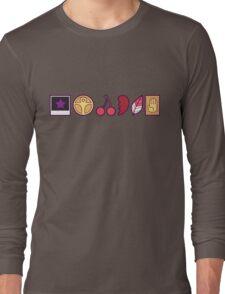 Team Joestar Symbols [Color Ver.] Long Sleeve T-Shirt