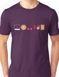 Team Joestar Symbols [Color Ver.] Unisex T-Shirt