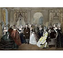 Franklin's Reception At The Court Of France Photographic Print