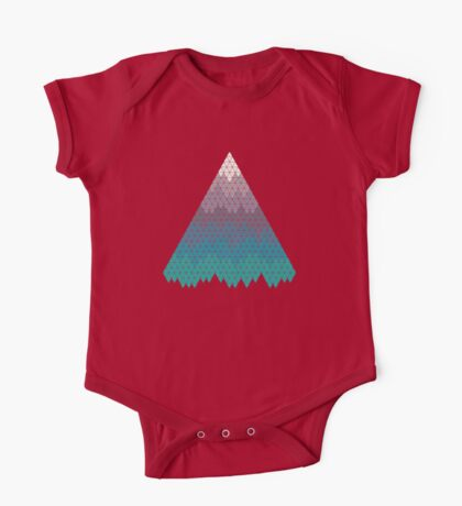 Many Mountains One Piece - Short Sleeve
