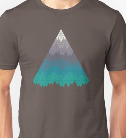 Many Mountains Unisex T-Shirt