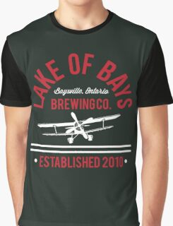 Lake of Bays Retro ft Crosswind Graphic T-Shirt