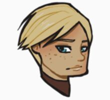 Chibi Brienne of Tarth - Transparent BG Sticker by BlackLemonJuice
