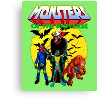 Monsters Canvas Print