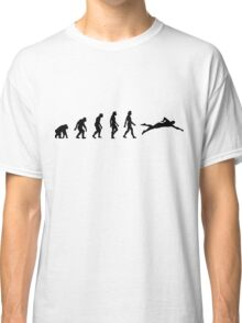 The evolution of swimming Classic T-Shirt