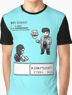 mr robot - pkm Graphic T-Shirt