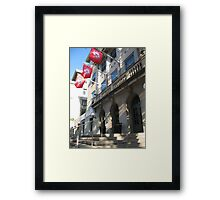 Memorial Union Flags Framed Print