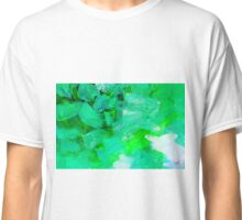 Matrix Aqua Green Classic T-Shirt