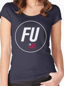 FU '16 Women's Fitted Scoop T-Shirt