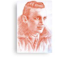 Luciano Consonni portrait Canvas Print