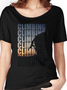 Climbing climbing climbing! Women's Relaxed Fit T-Shirt