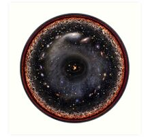 The Universe! As the Artist Intended!! Art Print