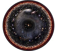 The Universe! As the Artist Intended!! Photographic Print