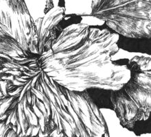 Decay - Flower Sticker