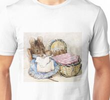 Mrs Titmouse and Baby Unisex T-Shirt