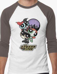 The Arkham Girls Men's Baseball ¾ T-Shirt