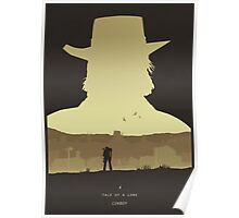 A Tale of a Lone Cowboy Poster