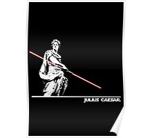 Star Wars: Julius Caesar - White Ink Poster