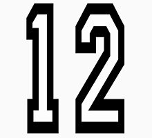 12, TEAM SPORTS, NUMBER 12, TWELVE, TWELFTH, Competition T-Shirt