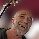 Smiling Guitarist by phil decocco