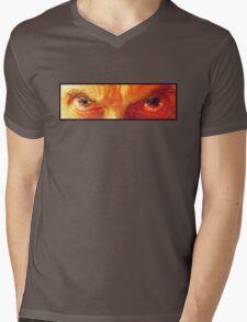Am I a Good Man? - Orange  Mens V-Neck T-Shirt