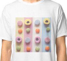 Sweet treat print 2 - pastel colours, liquorice  Classic T-Shirt