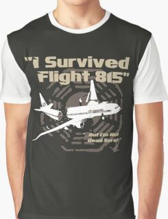 "LOST ""I Survived Flight 815"" Graphic T-Shirt"