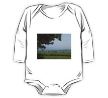 Cows in the Mist One Piece - Long Sleeve