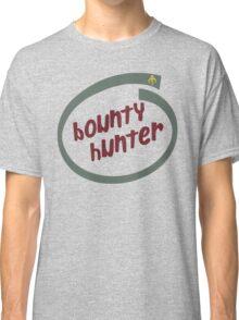 Boba Fett - Bounty Hunter Intel logo Classic T-Shirt