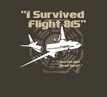 "LOST ""I Survived Flight 815"" Unisex T-Shirt"