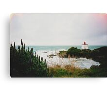 New Zealand Lighthouse Canvas Print
