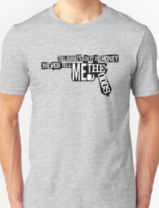 Star Wars - Han Solo Blaster  Quotes Unisex T-Shirt