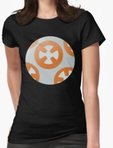 Simple BB8 Circle Design Womens Fitted T-Shirt