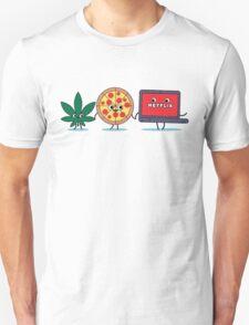Weed Pizza Netflix T-Shirt