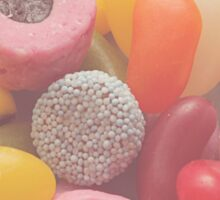 Sweet treat print 3 - pastel colours, all candy! Sticker