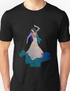 Water _ The Dancing Woman Willow T-Shirt