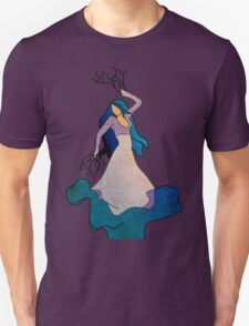 Water _ The Dancing Woman Willow T-Shirt