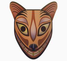 Feline tribal mask One Piece - Short Sleeve