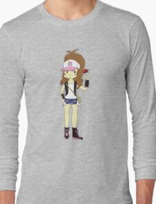 Pokemon Trainer Hilda Long Sleeve T-Shirt