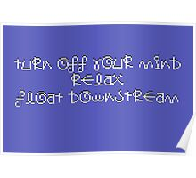 Turn Off Your Mind Poster