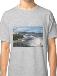 Lyme Regis Seascape - January 2016 Classic T-Shirt