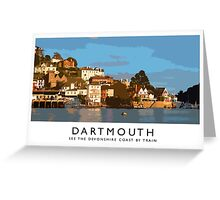 Dartmouth (Railway Poster) Greeting Card