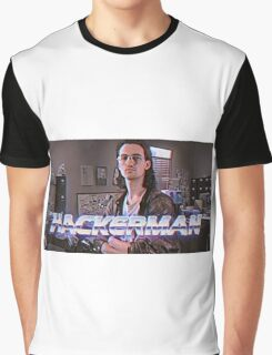 Hackerman Poster Graphic T-Shirt