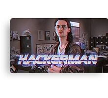Hackerman Poster Canvas Print