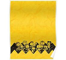Charlie Brown y sus amigos Poster