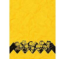 Charlie Brown y sus amigos Photographic Print