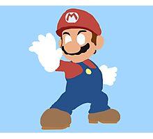 Simplistic Mario  Photographic Print