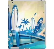 surfboard  background  iPad Case/Skin