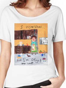 Frazzled Homeschool Mom Women's Relaxed Fit T-Shirt