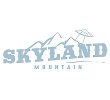 The X Files: Skyland Mountain (Sky Blue) by CowBeck